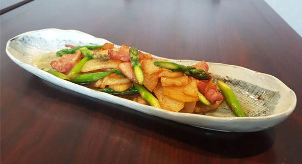 Sake Asparagus Image